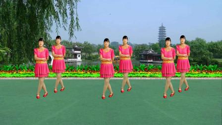 广场舞《烟花三月下扬州》优美好看16步,醉人的歌儿送给您