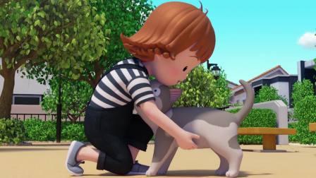 甜甜私房猫:乖乖,要听话哦!