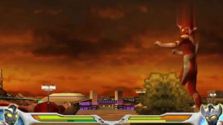 泰罗的战斗力爆表,艾斯奥特曼耍赖使用连环绝招