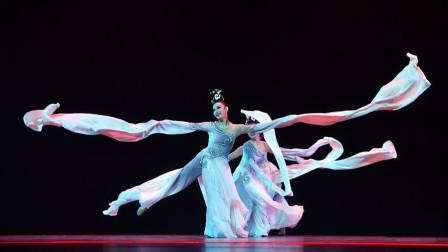 第十二届荷花奖古典舞作品《涟漪》,难得有三人舞,很有古典美!