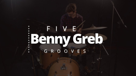 ★ME威律动★Brett Clur - 5 Drum Beats from Benny Greb