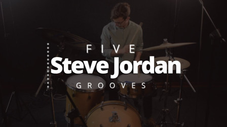★ME威律动★Brett Clur - 5 Drum Beats from Steve Jordan