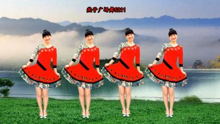 优美《蝴蝶泉》动听葫芦丝,经典傣族广场舞,美、美、美