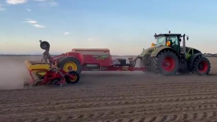 巨型的玉米播种机超出了我们的想象