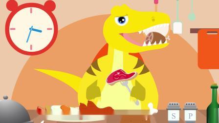 亲宝恐龙世界乐园儿歌第二季:恐龙野餐 恐龙们都吃些什么呢