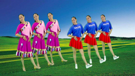 精品广场舞《拉萨夜雨》舞蹈轻松欢快 简单易学 一起欣赏吧