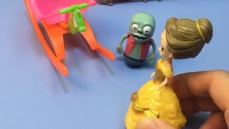 贝尔骗小鬼来了怪兽,其实是自己想玩小木马,贝尔可真自私