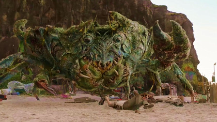 最新科幻冒险片,动物变异成怪兽,螃蟹都有十几吨