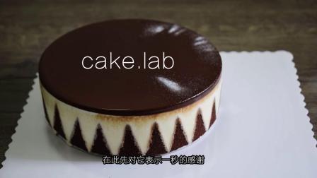 简单又高颜值的镜面慕斯蛋糕,吃之前照照镜