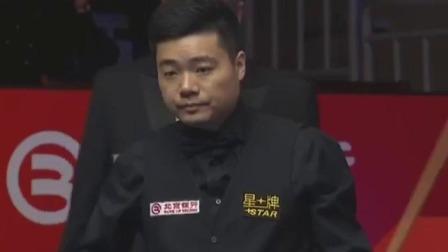 丁俊晖:就我今天这运气,想输都难!