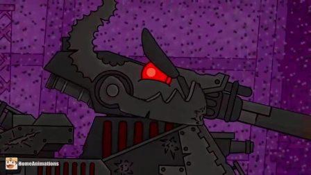 坦克动画:如此猖狂的坦克