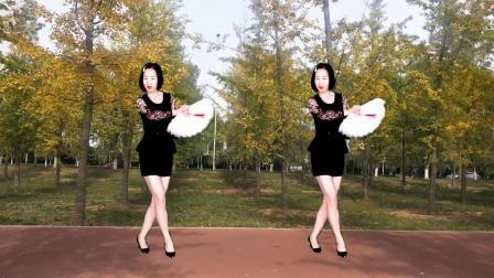 网红新歌《不敢表白Dj》扇子舞好听更好看