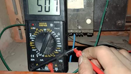 电工知识:万用表如何快速找出火线和零线?一般电工还不知道,老电工教给你