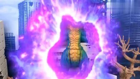 怪兽加戈尔贡修炼了石化魔功,功力大增银河奥特曼都不是对手