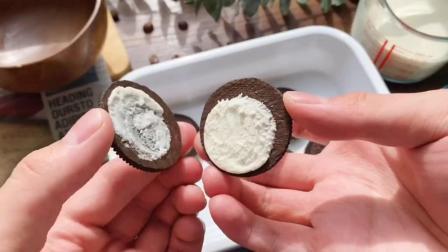 奥利奥酸奶块奥利奥神仙吃法之一!真的巨好吃