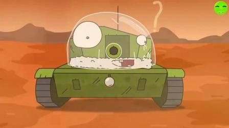 坦克世界:小坦克球到月球上去旅行