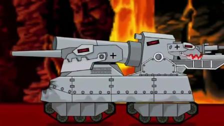 坦克世界:坦克进行山洞与怪物开战