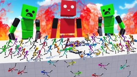 方块人模拟器:国外大神制作的高仿糖果人地图真有趣