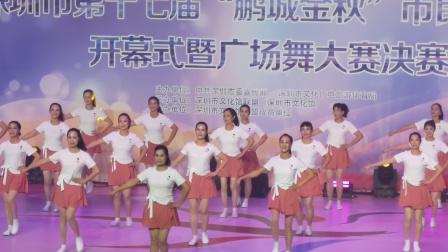 舞蹈青春有你,演示月心,钟团,吉祥等深圳市福田区莲花街道全体舞蹈参赛者。