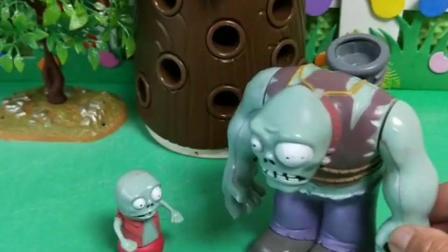 小鬼说话太慢了,搞得巨人僵尸一惊一乍的
