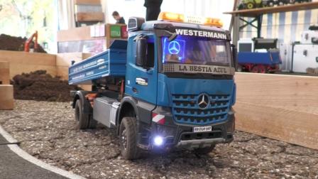 RC遥控奔驰卡车沃尔沃装载机