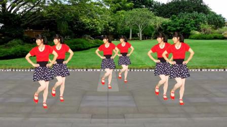 广场舞《美丽的火石寨》节奏动感欢快,简单又好看