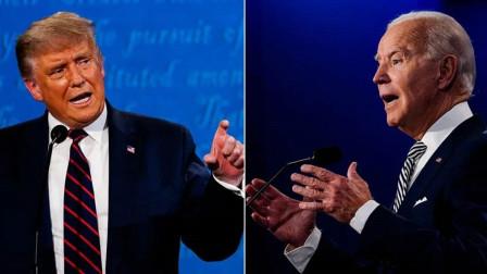 发言超时,特朗普在美国总统辩论中被闭麦