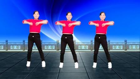 玫香广场舞原创《跟着我摇摆》健身舞附教学