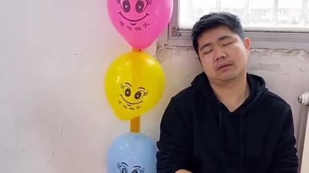 童年趣事:爸爸一直在睡觉