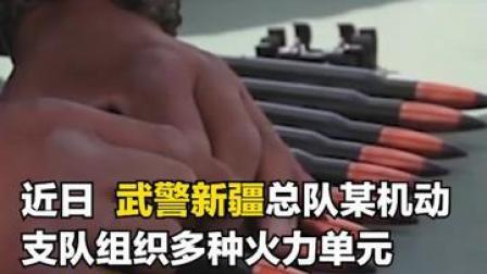 """近距离聆听!来自武警新疆总队某实弹射击场上的""""交响"""""""