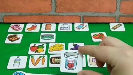 有趣的幼教玩具:七娃真是懂事的好孩子