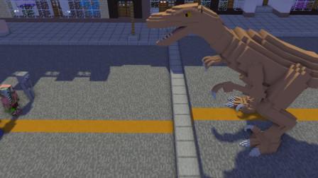 我的世界:怪物学院勇敢2挑战 我们的火力很强大