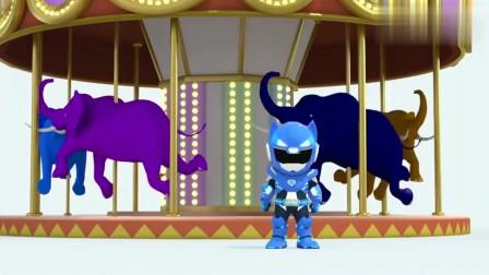 迷你特工队:弗特为了救小动物舍弃了最爱的旋转木马