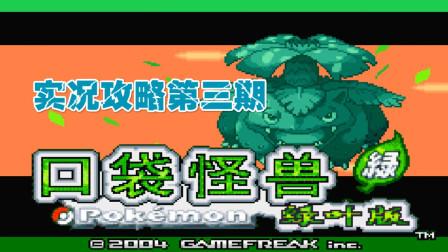 木子小驴解说《GBA口袋妖怪叶绿386》实况攻略第三期