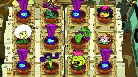 植物大战僵尸:大量的植物对付僵尸!