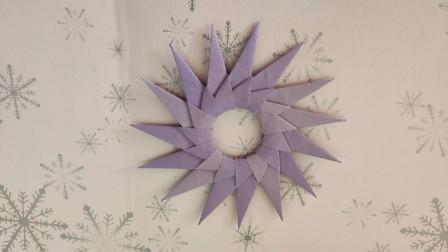 简单好学的飞镖折纸教程,可以用来当玩具的折纸,赶紧收藏