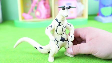 奥特曼怪兽:反派艾雷王软胶玩具分享