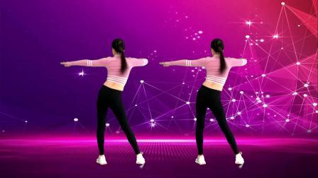 健身操,动作零基础,瘦手臂瘦腰《夜猫dj》背面