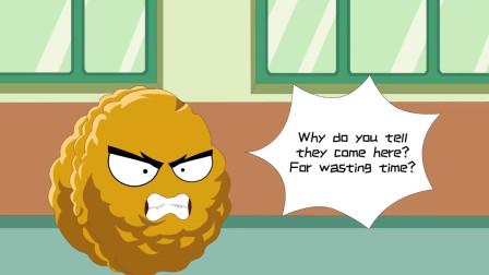 植物大战僵尸动画短片:他是一个暴躁的面试主理人