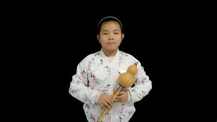 王佳欣   葫芦丝练习《红歌联奏》