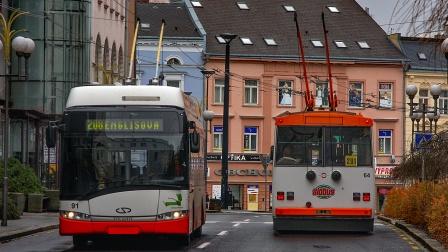 捷克-奥帕瓦的无轨电车 2020年