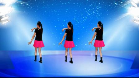 健康一生广场舞《开心过好每一天》背面, 32步旋律优美动感时尚, 简单易学