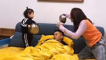 亲子游戏:好吧 宝宝是被迫营业的!