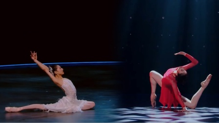 最后一战!芭蕾舞新星郭文槿与顶级舞者谭元元的舞蹈,美的享受!