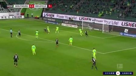 第15分钟比勒费尔德球员科尔多瓦射门 - 被扑