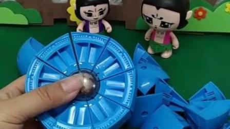 有趣的幼教玩具:七娃,能不能别唱了