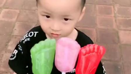 有趣童年:脚丫糖