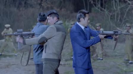 抗战:日本女军官审问女犯人,游击队深夜打日军,打他个措手不及