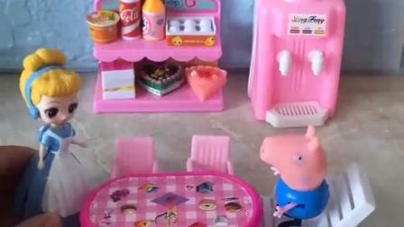 有趣的幼教玩具:乔治也太能吃了