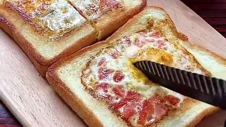 这种中式三明治,自己每天早上都给儿子做,不仅好吃还有营养!